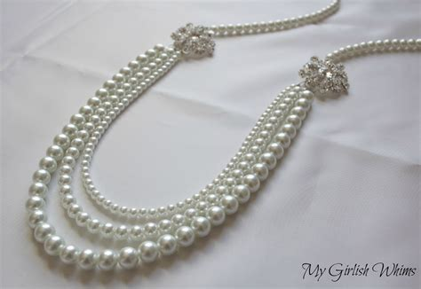how to make wedding jewelry pearl wedding necklace diy with david tutera
