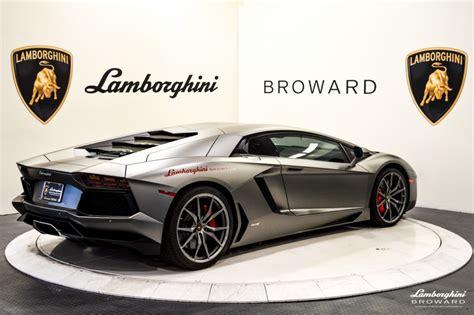 2014 Lamborghini Aventador LP700 4 Coupe For Sale