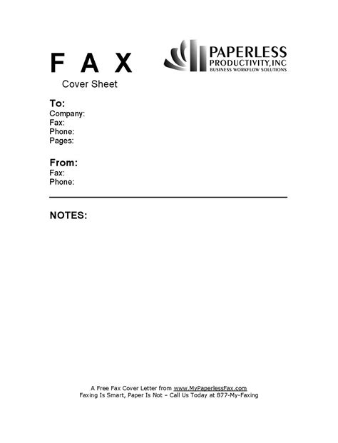 letter cover sheet free sample fax cover sheets my paperless fax