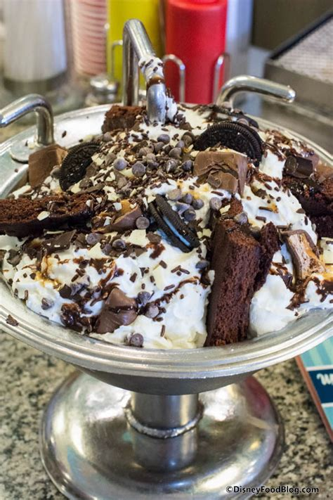 kitchen sink dessert onthelist the kitchen sink sundae and chocolate