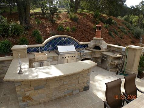 design an outdoor kitchen outdoor kitchen designs featuring pizza ovens fireplaces