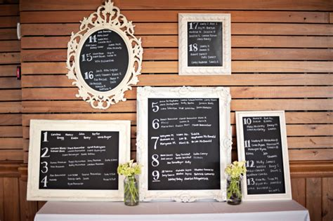 diy chalkboard table seating chart purple european inspired chic diy wedding