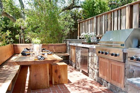 outdoor kitchen pictures and ideas rustic outdoor kitchen designs