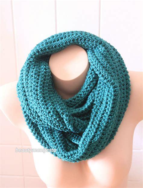Oversized Knit Scarf Oversized Chunky Infinity Scarf In