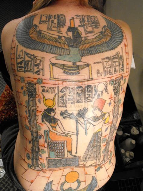 egyptian backpiece by sirkief on deviantart