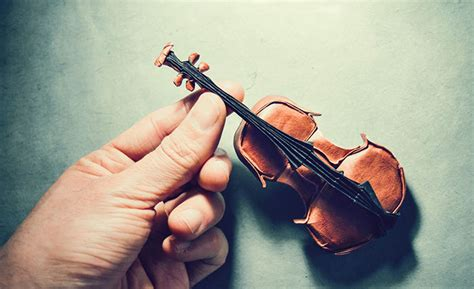 origami violinist the most beautiful exles of origami paper