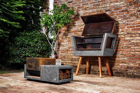 outdoor barbeque designs innovative barbecue experience concrete batea outdoor