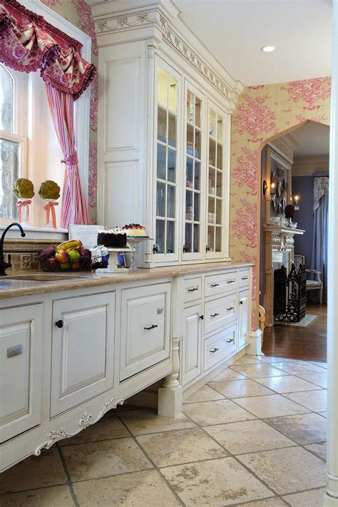 shabby chic kitchen wallpaper kitchen decor home design country decorating