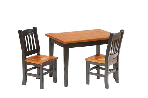 amish table and chairs amish made activity tables for by dutchcrafters amish