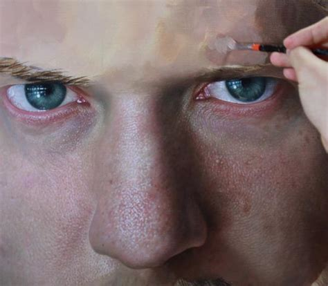 acrylic painting process realistic portrait paintings by joongwon jeong and