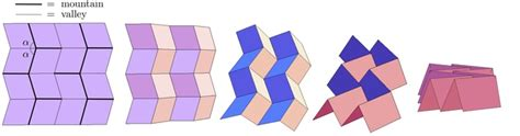 origami b cells origami mathematics in creasing portside