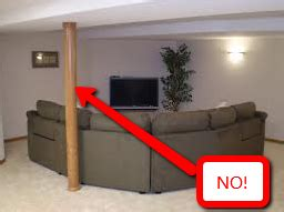 basement support posts hide basement support columns how to cover basement poles