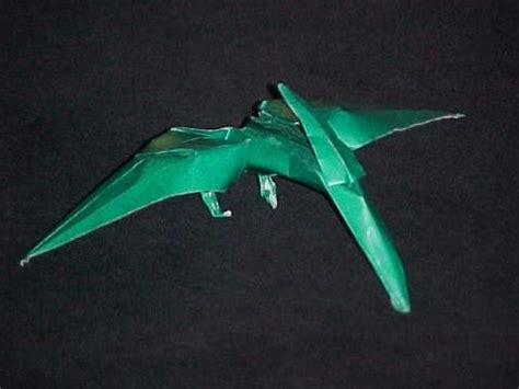 origami pteranodon diagrami pteranodon