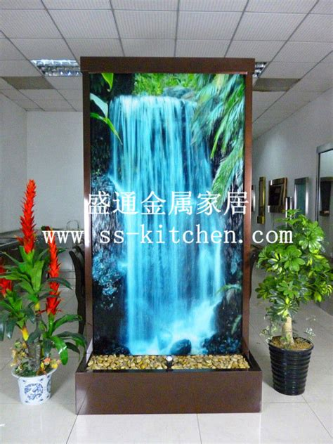 water decoration european fasionable wall water fengshui