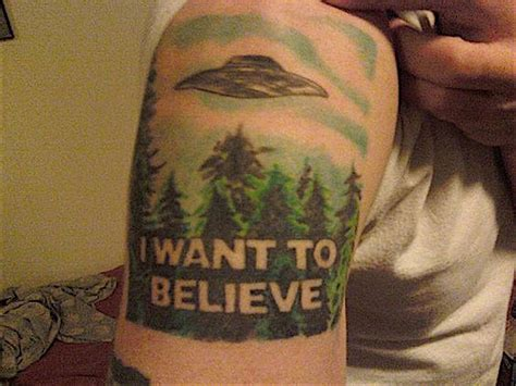awesome quot x files quot tattoos for those who want to believe