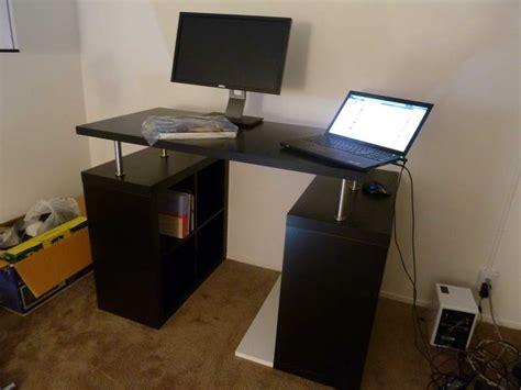 standing ikea desk standing computer desk ikea home furniture design