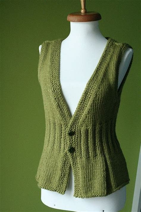 knit patterns for vests in one knitted vest knitting