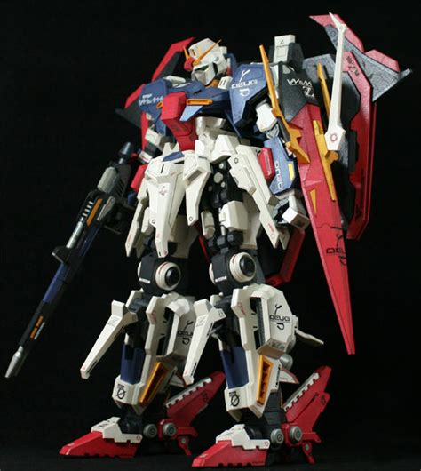 paper craft gundam detailed msz 006 hyper zeta gundam papercraft free