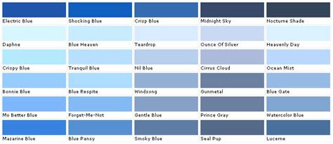 paint colors lowes blue paint swatch images frompo