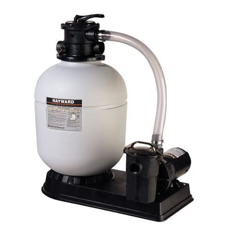 above ground pool and sand filter filtering systems