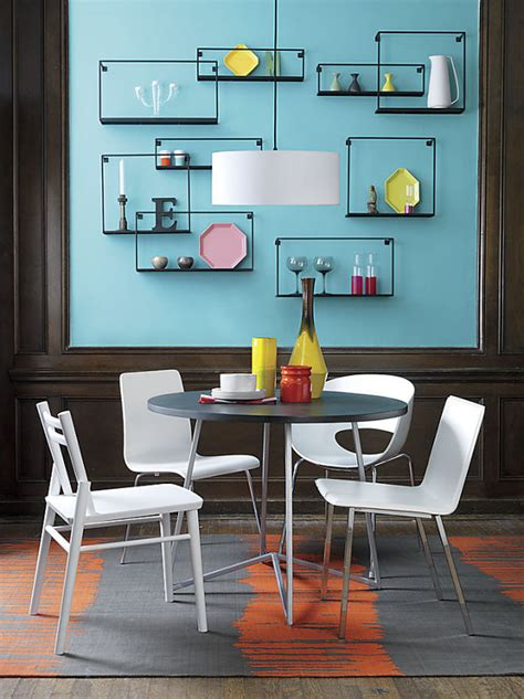 wall shelves for room wall decor ideas for a cool dining room