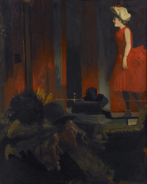 show about painting walter richard sickert caf 233 des tribunaux dieppe c