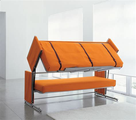 bunk beds with sofa doc a sofa bed that converts in to a bunk bed in two secounds