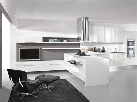 modern black and white kitchen designs modern lacquer black and white kitchen design ideas by