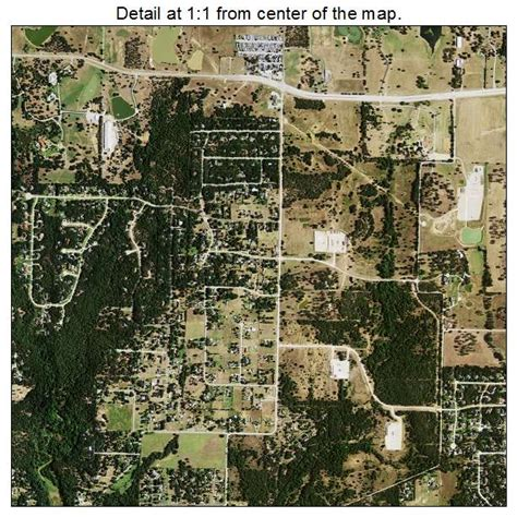 flower mound aerial photography map of flower mound tx