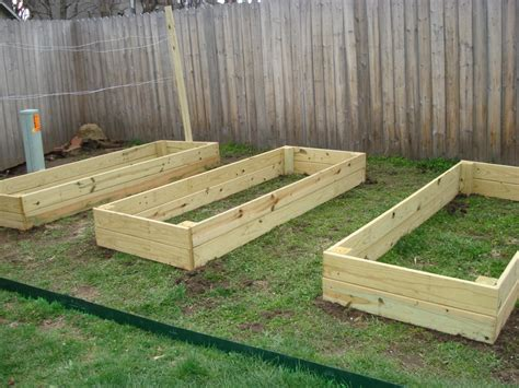 concrete planter boxes wood for raised beds a practical way of gardening homesfeed