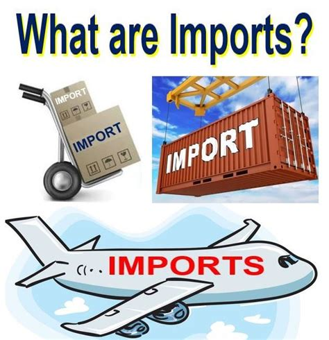 what are what are imports definition and meaning