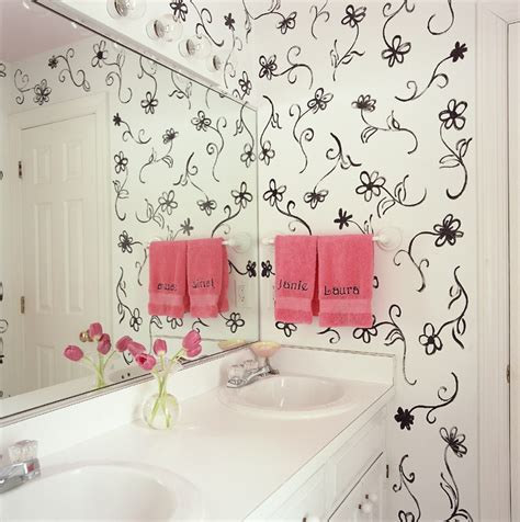 Bathroom Stencil Ideas by 54 Best Painted Stenciled Walls Images On