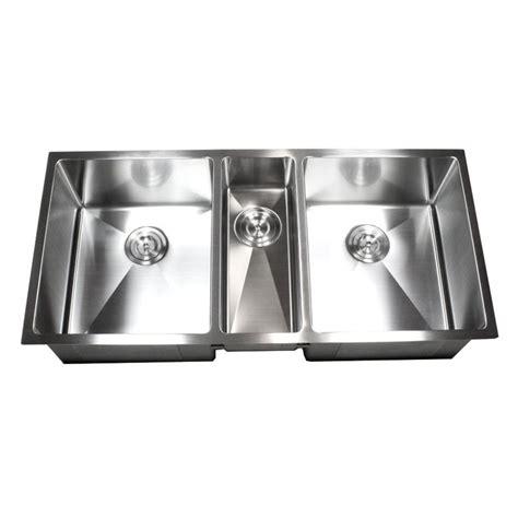 3 bowl kitchen sink undermount 42 inch stainless steel undermount bowl kitchen