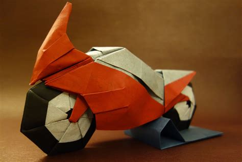 origami motorcycle i could harley wait to show you these origami vehicles