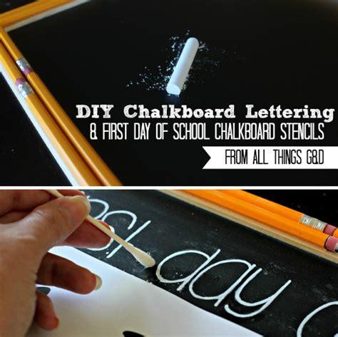 diy chalkboard lettering easy chalkboard lettering tutorial