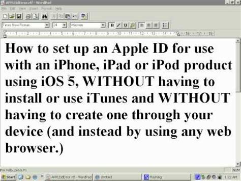 how to make your apple id without a credit card how to create an apple id for the iphone or ipod