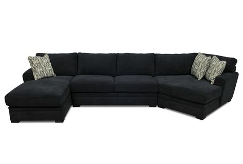 black suede sectional sofa black sectionals black leather sectional f7355 black