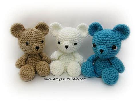 tiny teddy knitting patterns crochet teddy patterns