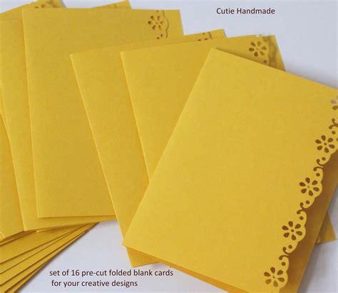 card supplies 16 die cut folded blank cards supplies paper goods card