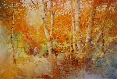 watercolor crafts for roycraft watercolors quot fall birch quot