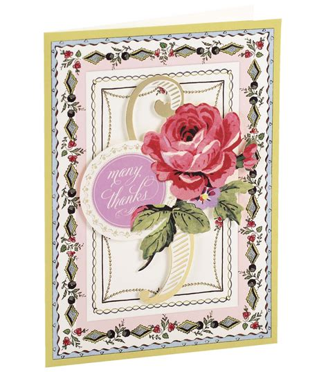 thank you card kits griffin card kit thank you painted jo