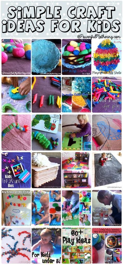 ideas for children simple craft ideas for