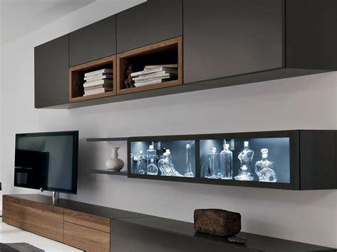 Neo Parete Attrezzata Con Porta Tv By H 252 Lsta Werke H 252 Ls