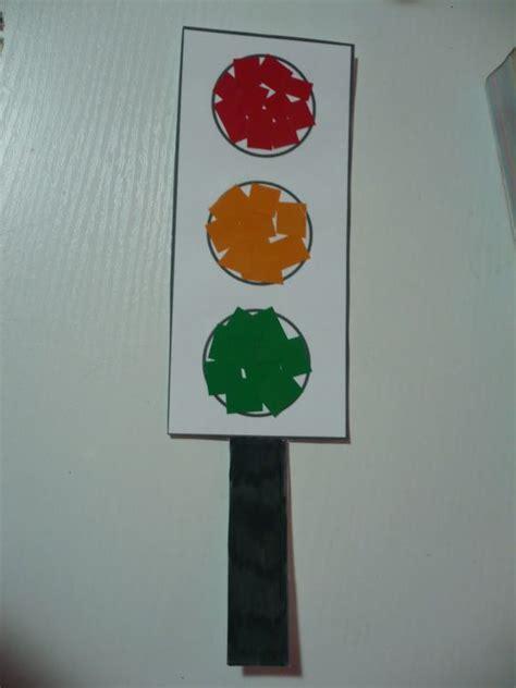 traffic light craft for maro s kindergarten traffic light collage theme