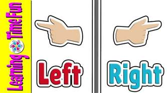 left right learn left and right kid s learning opposites