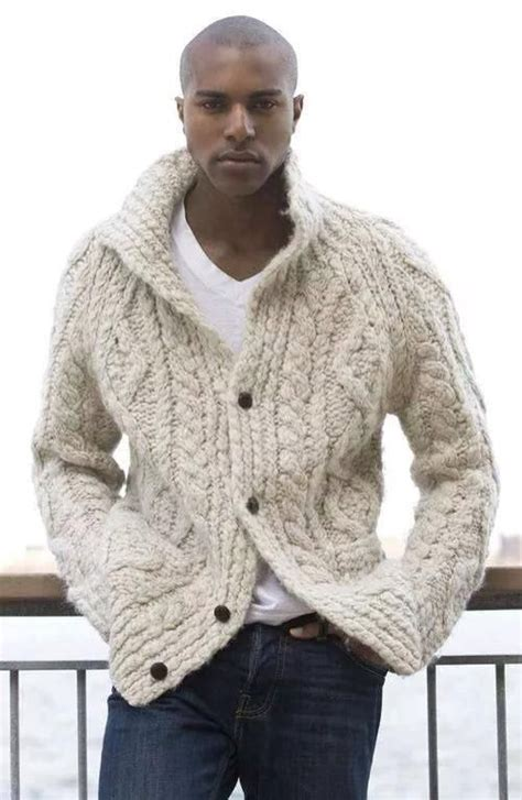 mens knitted cardigan made to order knitted cardigan turtleneck sweater