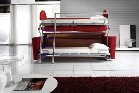 into bunk bed price sofa turns into bunk beds that turns into a bunk bed