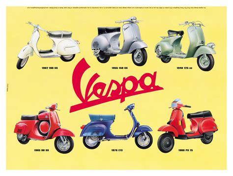 Modifikasi Vespa Vintage by Poster Vespa Vintage Directory Bengkel