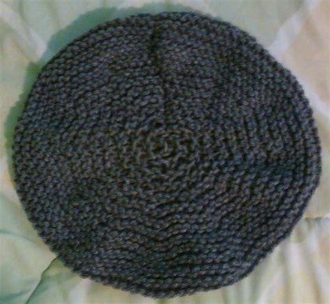 beret knitting pattern needles simple knit beret by mau works knitting pattern