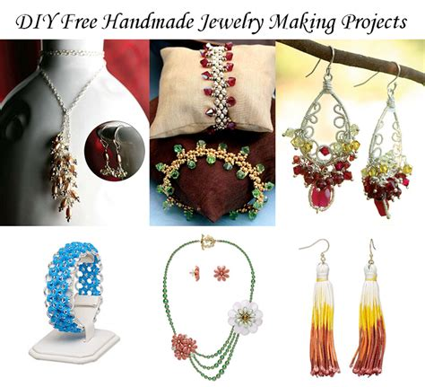 free jewelry projects diy free handmade jewelry projects